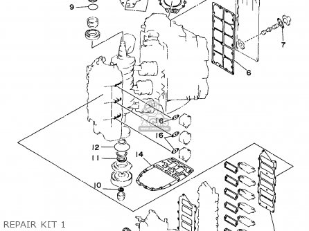 (61A11181A2) GASKET, CYLINDER HEAD 1