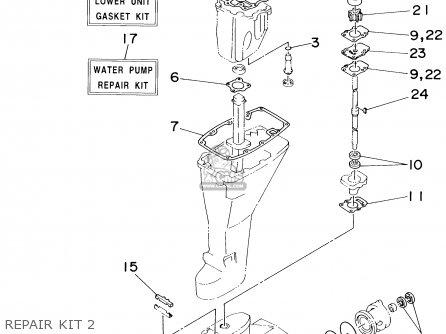 Lower Unit Gasket Kit photo