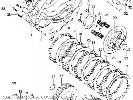 Honda Xl175 K1 Xl175 1974 Parts