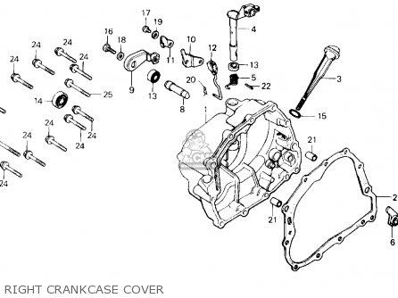 cov r crankcase for tlr200 reflex 1986 g usa california order at 1996 EZ Go Wiring Diagram cov r crankcase photo
