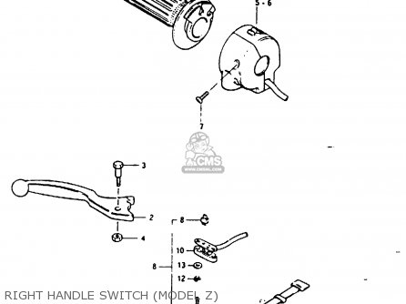 Switch Assembly, Handle, Right photo