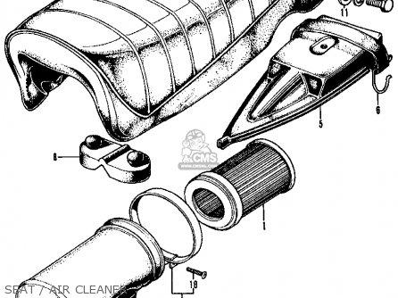 Honda Cl70 Scrambler 70 1969 Parts