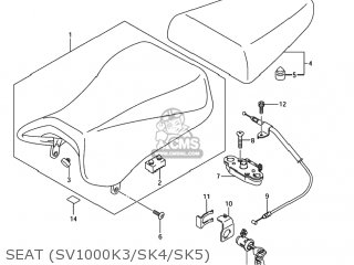 Seat Assy, Pillion photo
