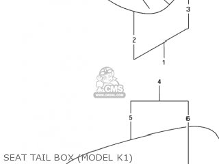 TAPE SET,BOX SEAT TAIL(WHITE)