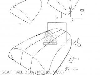 Box, Seat Tail(black) photo
