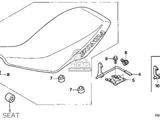 (77100HP1A00ZA) SEAT COMP.*TYPE1*