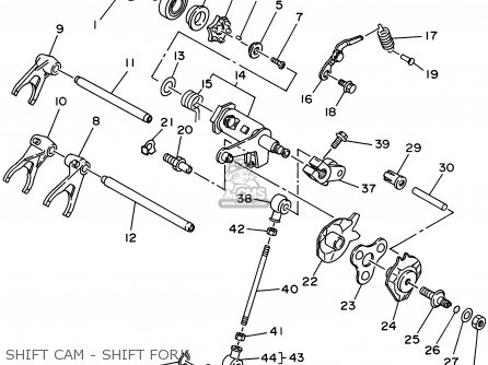 Shift Shaft Assy photo