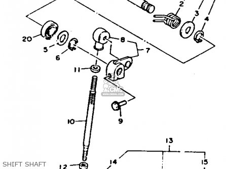 Yamaha 1992 Tdm850d Tdm850 Street Motorcycle Parts