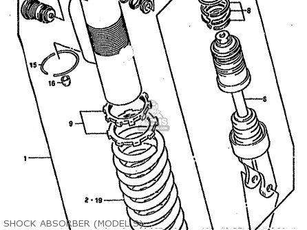 Adjuster Set, Shock Absorber photo