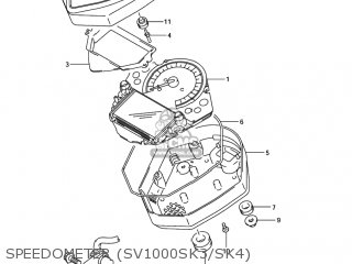 Case, Speedometer Upr photo