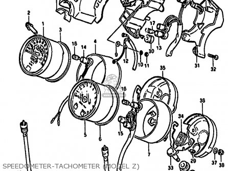 Socket, Tachometer photo
