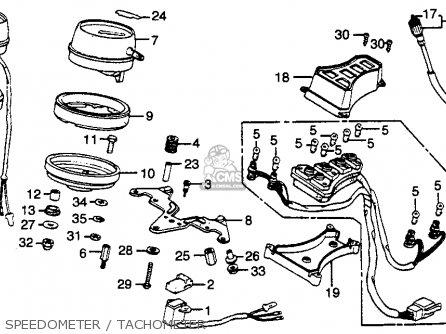 (37250449710) TACHOMETER ASSY.