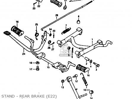 Lod Assy, Rear Brake photo