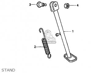 SCREW,SIDE STAND