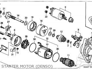 Motor Assy, Starte photo