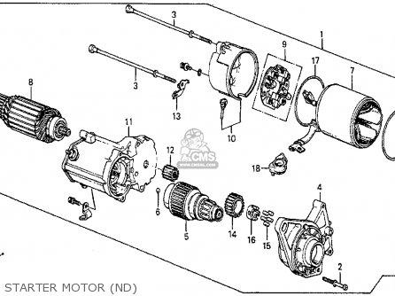 1987 Honda Accord Lxi Parts