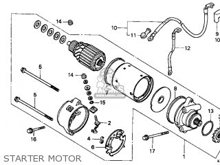 CABLE,START MOTOR