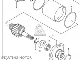Motor Assy, Starting photo