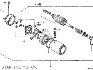 Motor Assy Starte photo