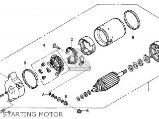 MOTOR ASSY STARTE