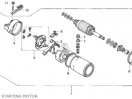 Motor Assy.,start photo
