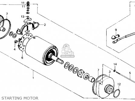 Cable, Starter Motor photo