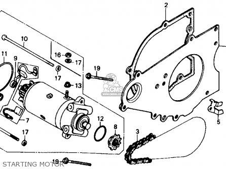 31200kr3008 Motor Assy Start Honda
