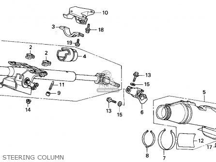 Genuine Honda 53320-SR3-A81 Steering Joint Cover