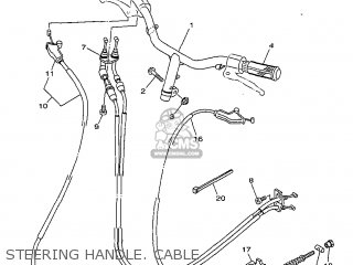 (5BM2630101) THROTTLE CABLE ASSY