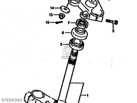 Head, Steering Stem(silver) photo