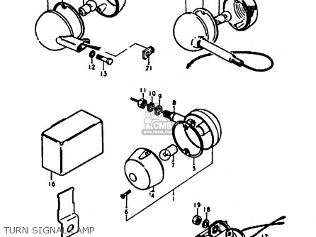 Suzuki A100-4 1978 c Turn Signal Lamp