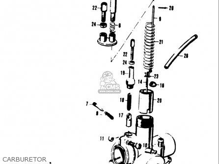 Suzuki    A100    As100 Ac100 1969 Usa  e03  parts list