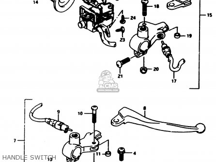 Suzuki Ad50 1990 l Handle Switch