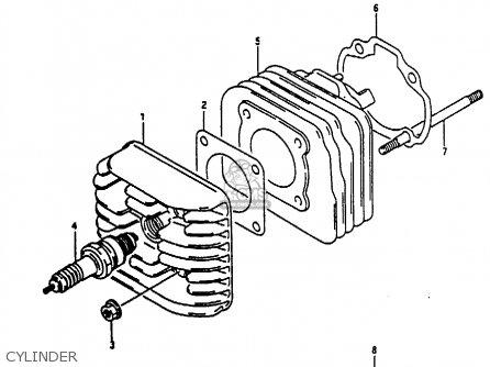 Suzuki Ae50 1991 m Australia e24 Cylinder