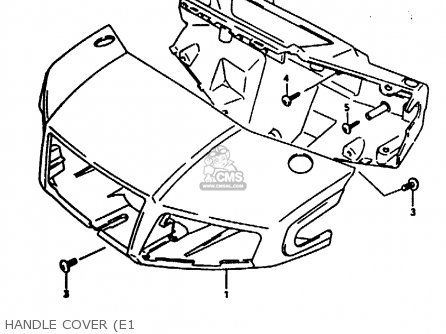 Suzuki Ae50 1991 m Australia e24 Handle Cover e1