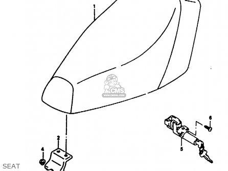 Suzuki Ae50 1991 m Seat