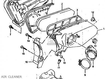 Suzuki Ah100 1994 r e02 E04 E22 E34 Air Cleaner
