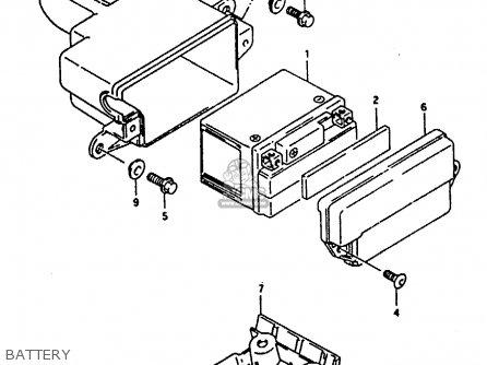 Suzuki Ah100 1994 r e02 E04 E22 E34 Battery