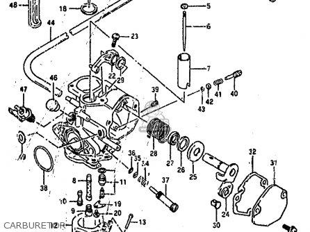 Suzuki Ah100 1994 r e02 E04 E22 E34 Carburetor