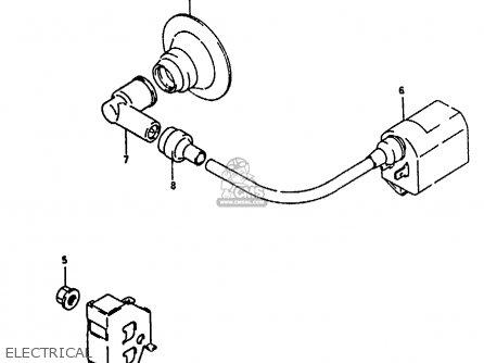 Suzuki Ah100 1994 r e02 E04 E22 E34 Electrical
