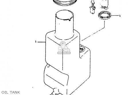 Suzuki Ah100 1994 r e02 E04 E22 E34 Oil Tank