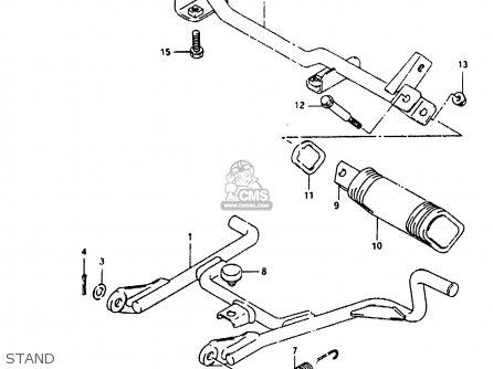 Suzuki Ah100 1994 r e02 E04 E22 E34 Stand