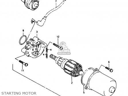 Suzuki Ah100 1994 r e02 E04 E22 E34 Starting Motor