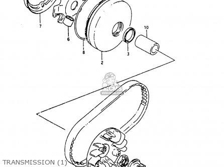 Suzuki Ah100 1994 r e02 E04 E22 E34 Transmission 1