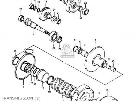 Suzuki Ah100 1994 r e02 E04 E22 E34 Transmission 2