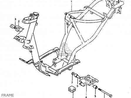 Suzuki Ah100 1994 r Frame