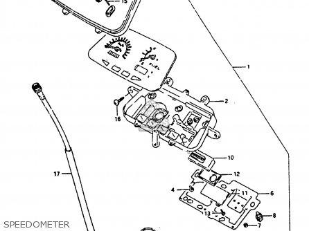 Suzuki Ah100 1994 r Speedometer