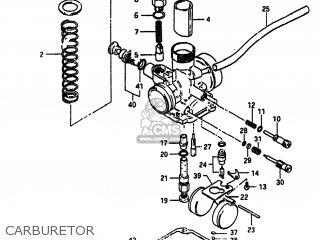 Suzuki Alt185 1985 f Usa e03 Carburetor