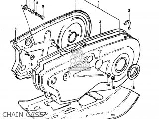 Suzuki Alt185 1985 f Usa e03 Chain Case