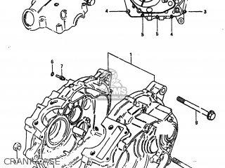 Suzuki Alt185 1985 f Usa e03 Crankcase